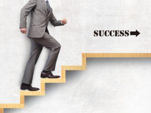 成功に向かっていく