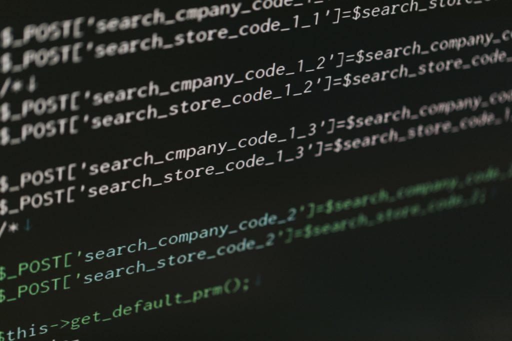 プログラミングコード