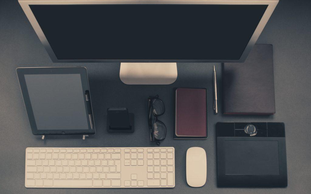 雑貨とパソコン