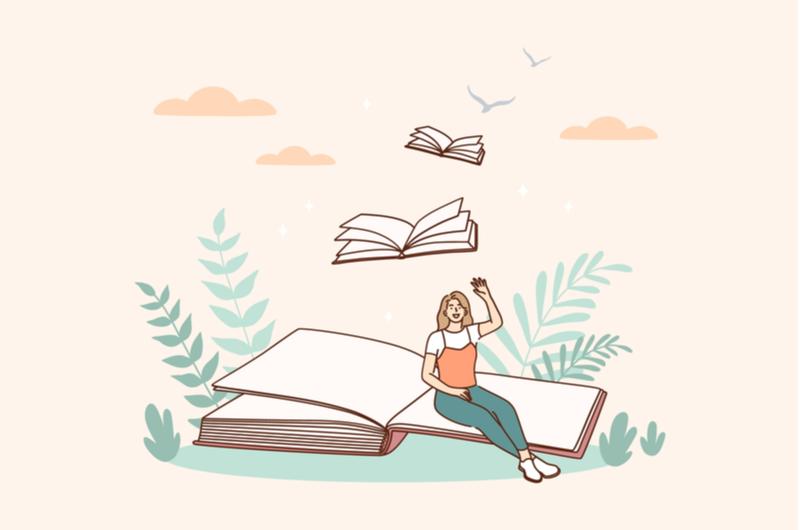 本を活用する人
