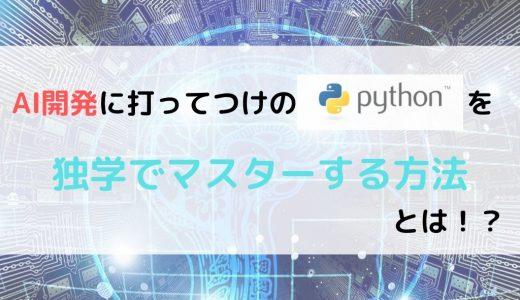Pythonを独学で学ぶには?おすすめの勉強方法を解説!