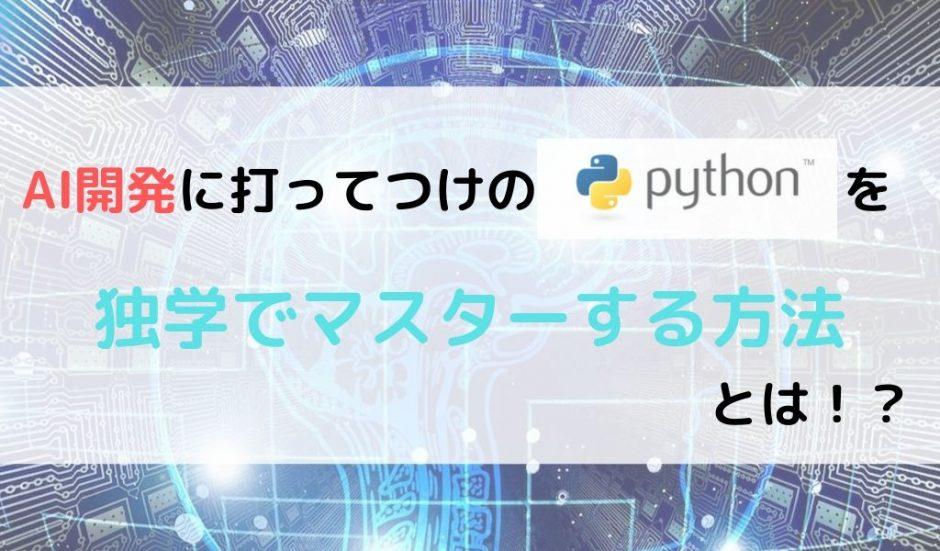 Python 独学