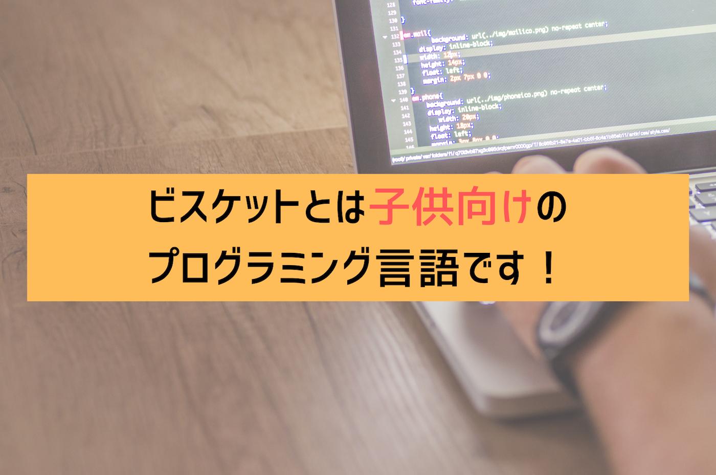 プログラミング言語のビスケット「viscuit」について解説!子ども向けプログラミング言語