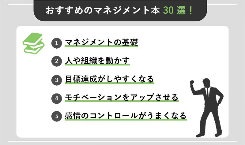 おすすめのマネジメント本30選!用途別に紹介