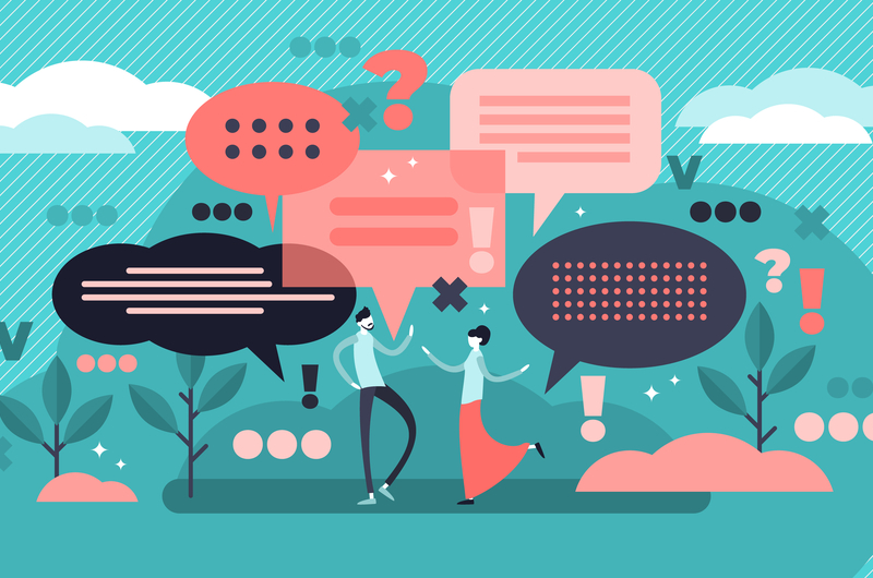 コミュニケーション力のイメージ