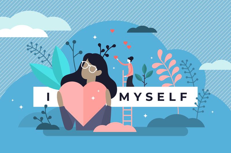 自己肯定感のイメージ