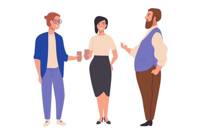 仕事上で求められるコミュニケーションのイメージ