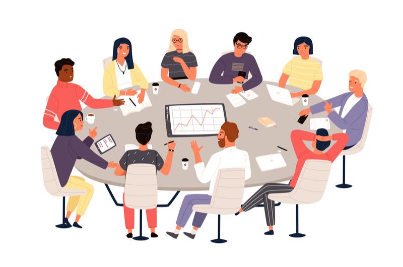 仕事におけるコミュニケーションの種類