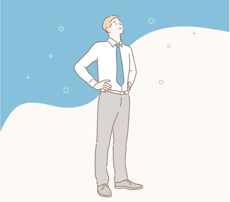 退職に向けて前向きに行動をはじめるイメージ