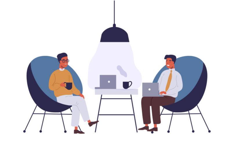 仕事上のコミュニケーションのイメージ