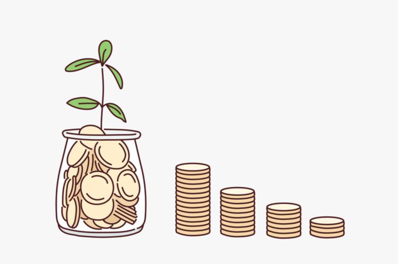 お金をためているイメージ