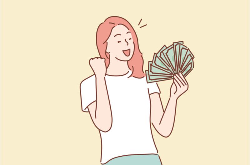お金を持っている人のイメージ