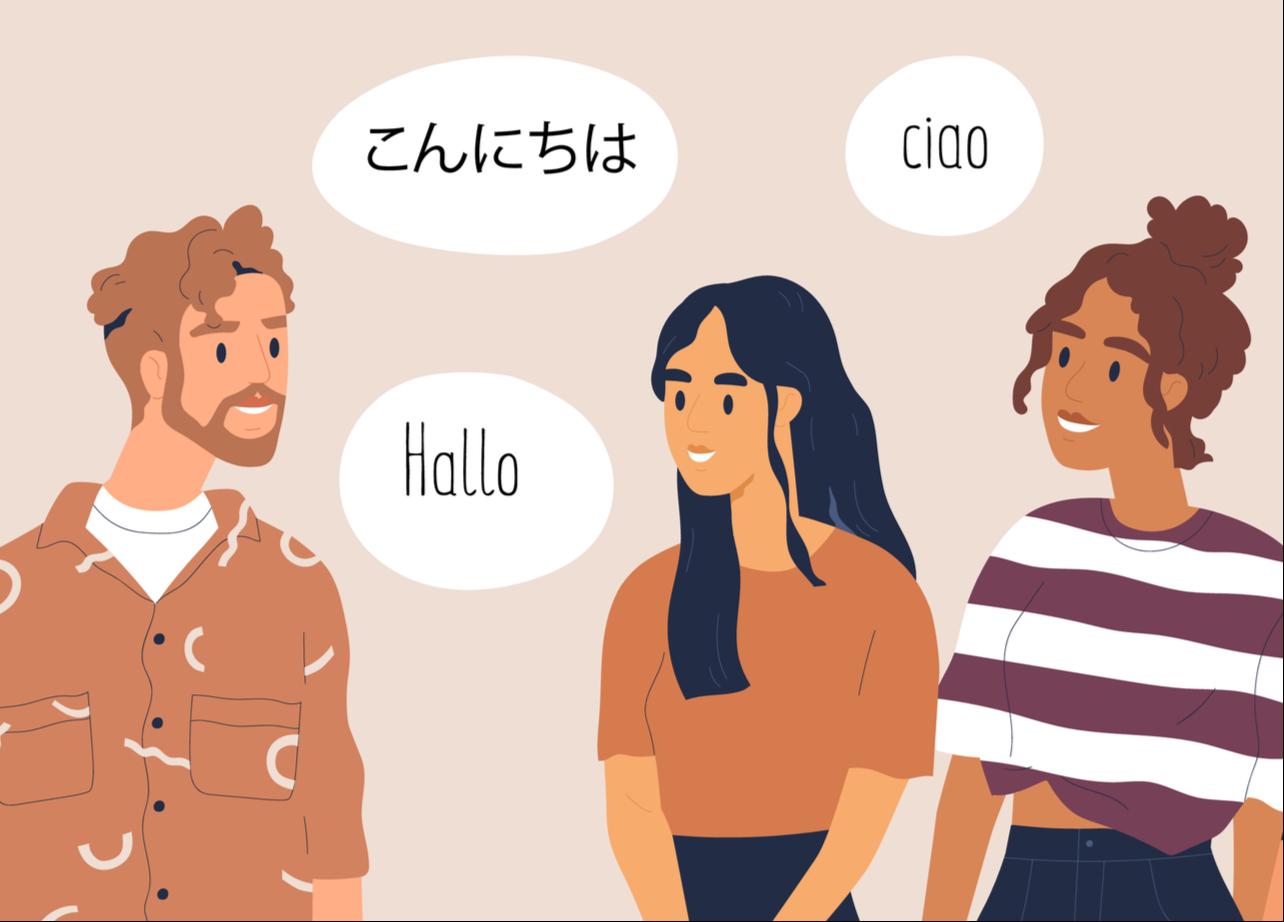 国際交流している大学生のイメージ