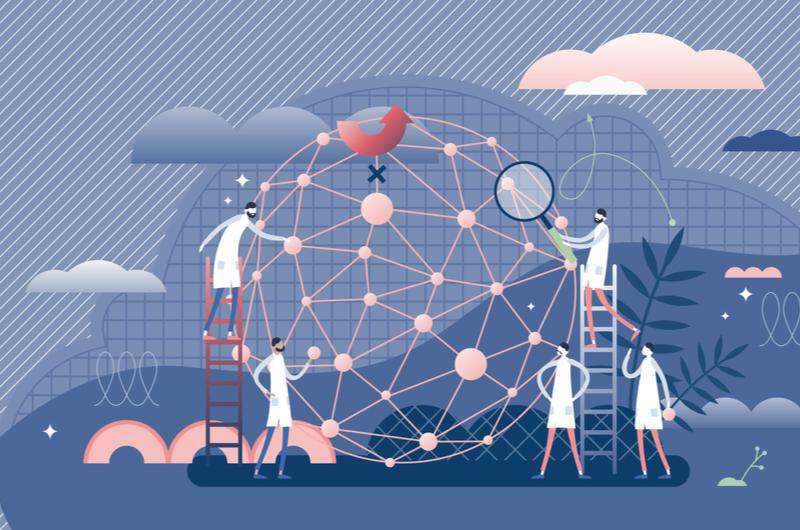 ロジカルシンキングで代表的なフレームワークを使うイメージ
