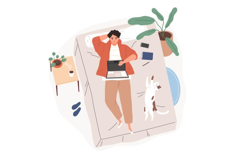 大学生におすすめの在宅アルバイトのイメージ