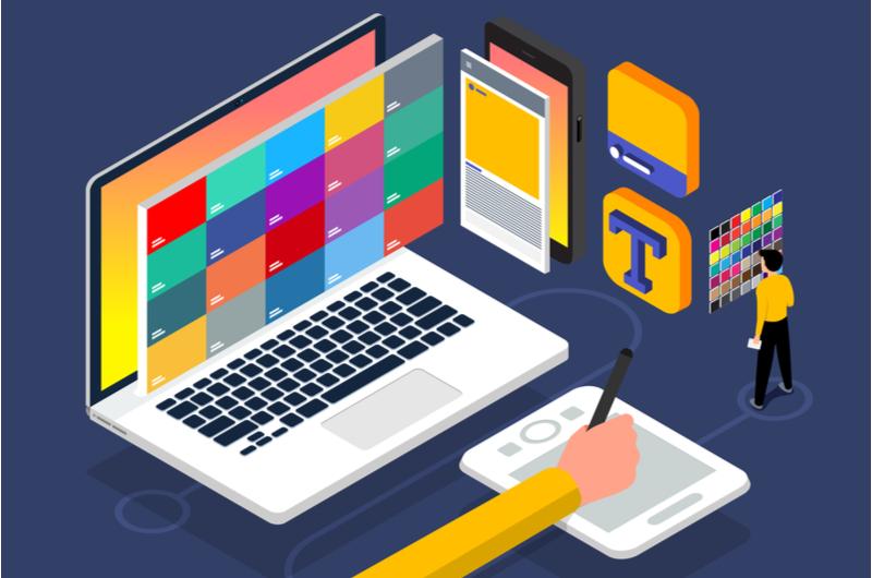 Webデザイナーのイメージ