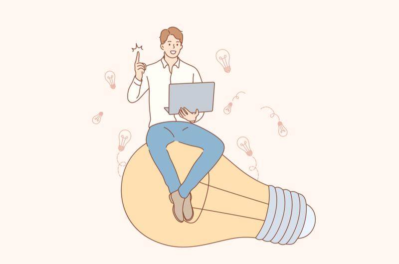 転職を成功させるコツを教えるイメージ