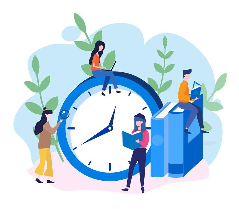学習時間のイメージ