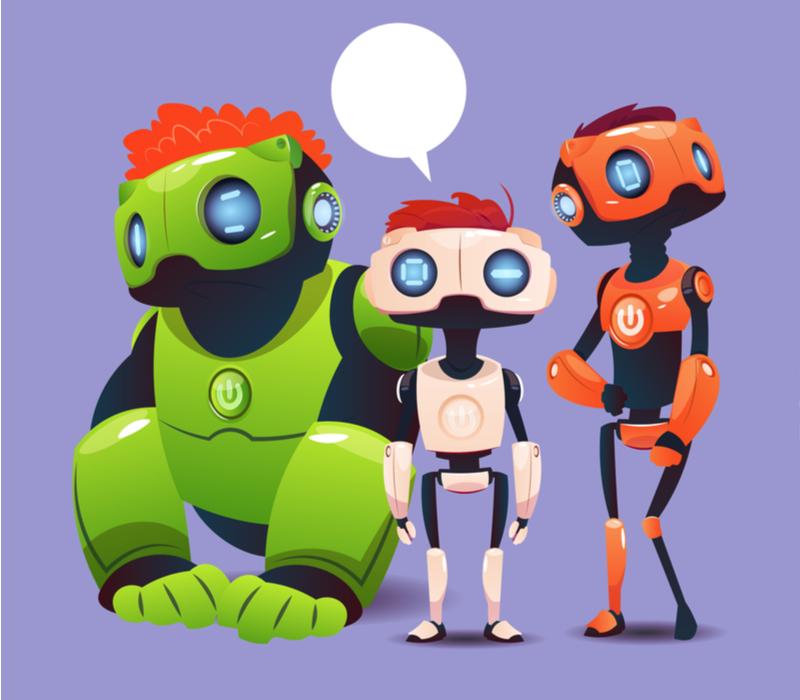 ロボットプログラミングの3つの選び方のイメージ