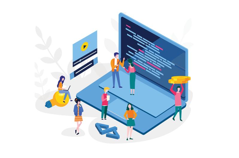 プログラミング言語の学習サイトのイメージ