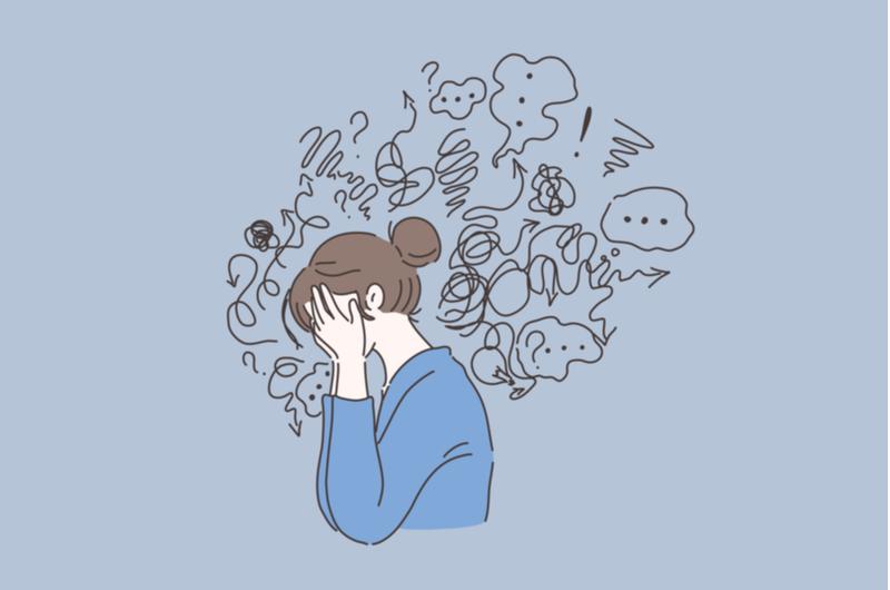仕事のトラウマによる症状