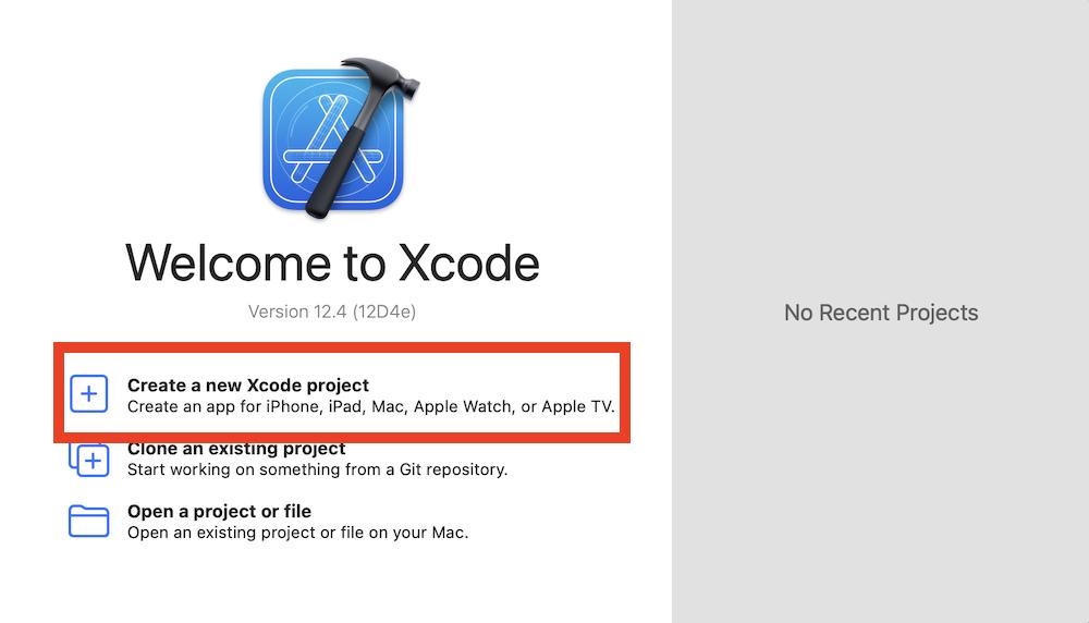 Xcodeを使う流れ